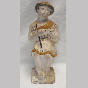 22-5689 Chalk Figure of a Woman Image