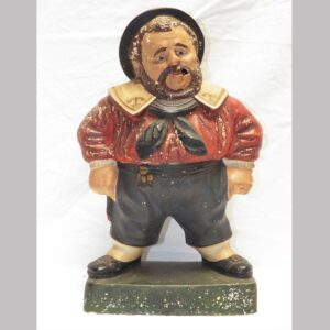 28-18440, Chalk figure of a sailor detailed painted surface, neat form. $2,950