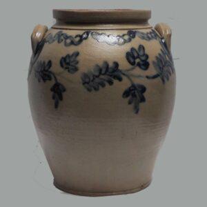 30-20425x, Exceptional 3 gallon ovoid jar, PA or VA, fine condition. $2,250