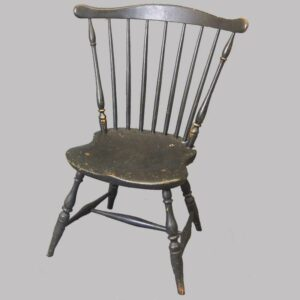 15-24594, Comb back 7 spindle windsor side chair, Probably Phili. PA, 1790-1815. $895