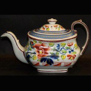 16-27147 Gaudy Dutch Tea Pot Image