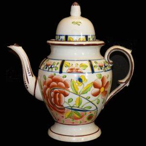 15-24561 Gaudy Dutch Dome Top Tea Pot Image