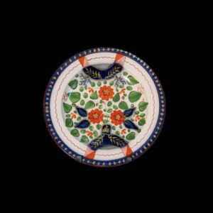 27-15494 Gaudy Dutch Toddy Plate Image