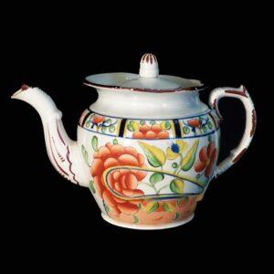 30-21884 Gaudy Dutch Tea Pot Image