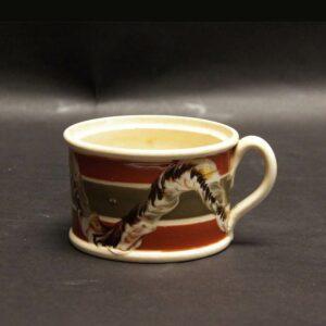 28-18969 Handled Mocha Mustard Pot Image