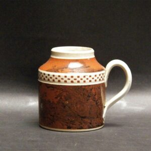 29-19699 Handled Mocha Mustard Pot Image