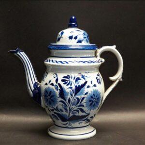 25-12183 Pearlware Dome Top Tea Pot Image