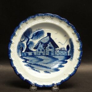 25-13134 Pearlware Feather Edge Plate Image
