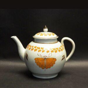 25-11447 Pearlware Tea Pot (SOLD) Image