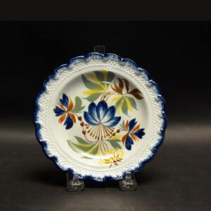 2-14229 Pearlware Toddy Plate Image