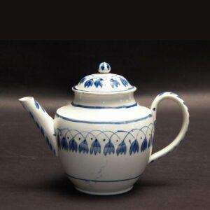 26-14857 Miniature Pearlware Tea Pot Image