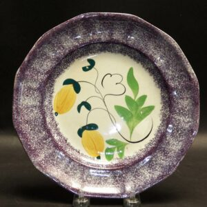 12-21808 Purple Spatter Plate Image