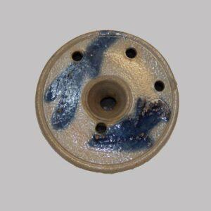 28-17671, Stoneware pottery ink, cobalt blue decoration. $1,295