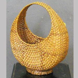 20-4366, Unusual form splint basket. $275