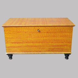 15-24943 PA Paint Decorated Blanket Chest Image