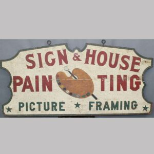 27-15384x Wooden Trade Sign Image