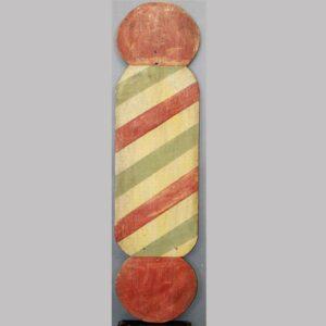15-25404 Wooden Barber Pole Image