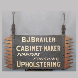 30-21098 Painted Wood Trade Sign Image