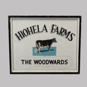 15-25537 Painted Wood Trade Sign Image