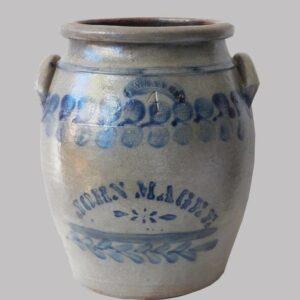 16-27414 Four Gallon Stoneware Jar Image