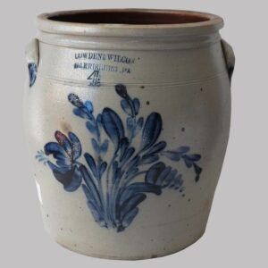 16-27814 Four Gallon Stoneware Jar Image