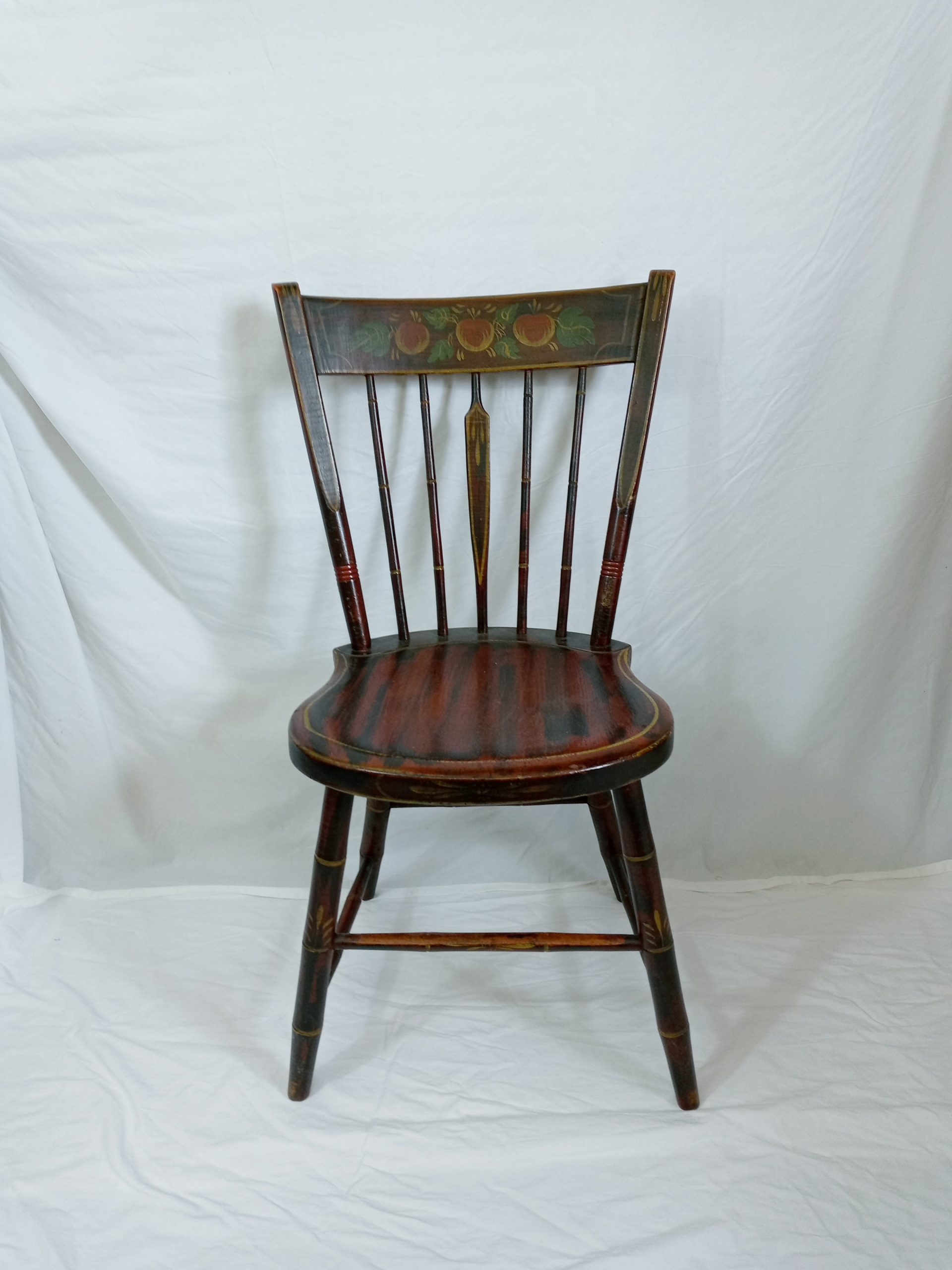 2-18988 PA paint decorated side chair Image