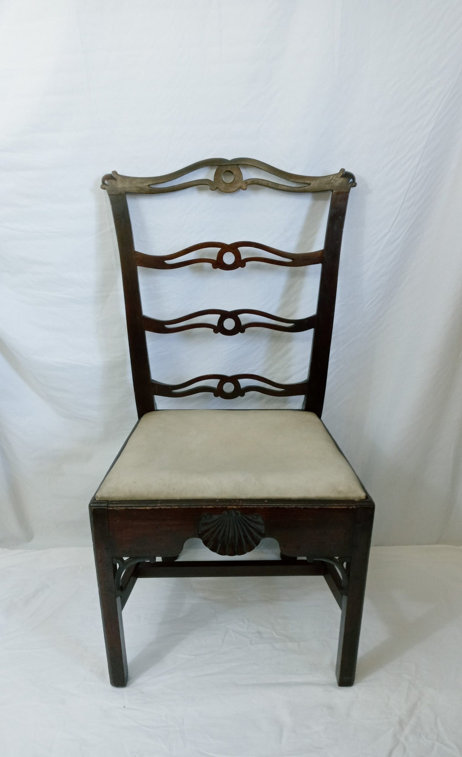 24-10946 Chippendale Mahogany Side Chair Image